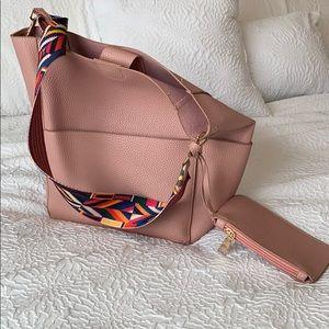 Handbags - Dusty pink bucket bag